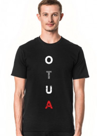 Koszulka męska przeróbka, parodia koszulki konstytucja, konfidencja, destylacja - OTUA