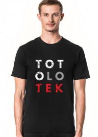 Koszulka męska parodia, przeróbka koszulki konfidencja, konstytucja, destylacja - TOTOLOTEK