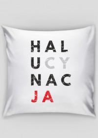 Poduszka parodia, przeróbka koszulki konfidencja, konstytucja, destylacja - Halucynacja