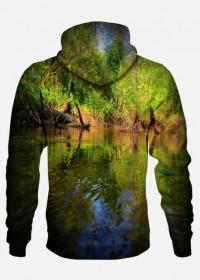 żywe kolory jeziora