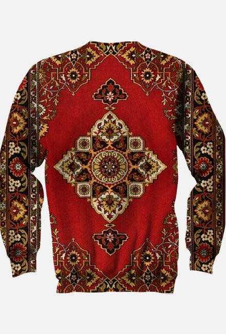 Dywanowa bluza Fullprint