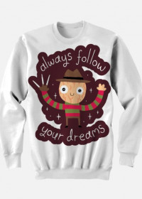 "Bluza ""Follow Your Dreams"""