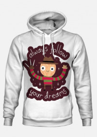"Bluza z kapturem ""Follow Your Dreams"""