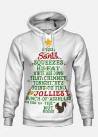 "Bluza z kapturem ""Jolliest Bunch of A-holes"""