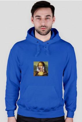 Mona Lisa z lizakiem