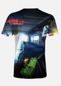 Koszulka Męska Battlebus - Specjalna Edycja Fortnite