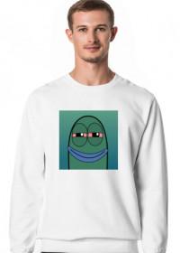 Męska bluza z dłułgim rękawem logo