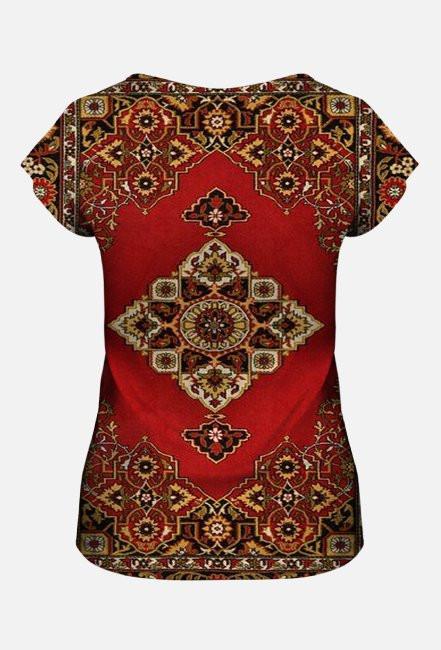 Russian Carpet - Woman Full Print