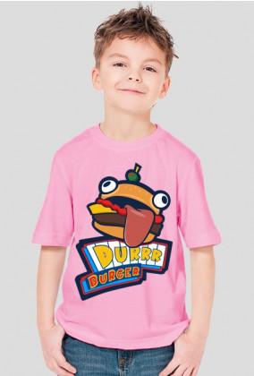 Dla chłopca Koszulka Durr Burger - Fortnite Limited Edition