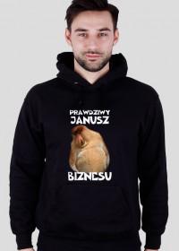 Bluza z kapturem - Janusz biznesu