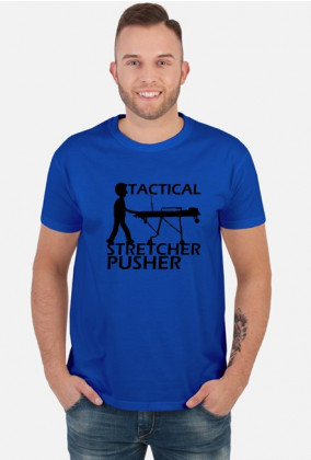 Tactical Stretcher Pusher black