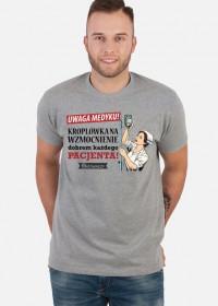 Kroplowka na wzmocnienie - koszulka meska