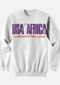 BLUZA USA FOR AFRICA/WE ARE THE WORLD