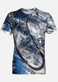 Koszulka full Print - TATRZAŃSKIE ZAKRĘTASY 2