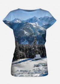 Koszulka dasmka Full Print - RUSINOWA POLANA