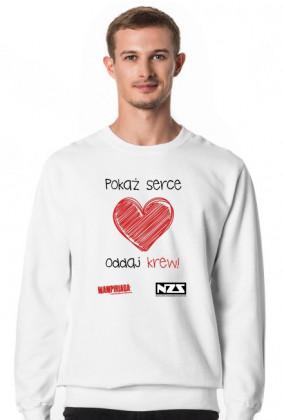 Bluza męska 2 #pokażserceoddajkrew