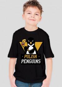 """Koszulka dziecięca """"Polish Penguins"""""""