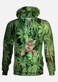 Full Print weed cat / unisex