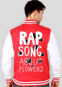 Rap song about flowers (white)
