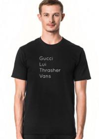 Gucci Lui thrasher vans ja wydaje na to hajs