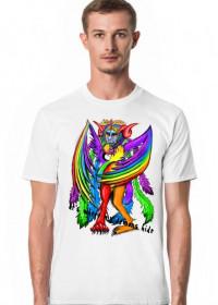 Demoniczna Koszulka (napis)