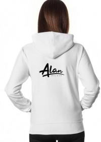 Hoodie  Alan Walker /white