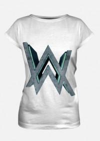 T-shirt Alan Walker /White