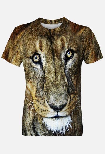 Lew (koszulka dwustronna)