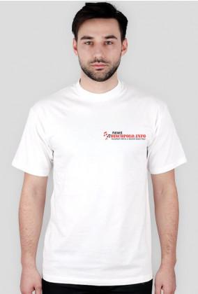 Koszulka t-shirt męski z nadrukiem NewsDiscoPolo
