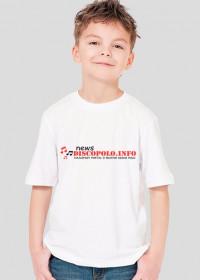 Dziecięca koszulka 2 z nadrukiem NewsDiscoPolo