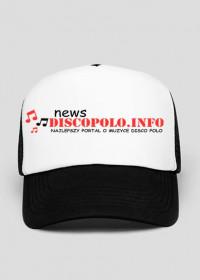 Czapeczka z daszkiem z nadrukiem NewsDiscoPolo