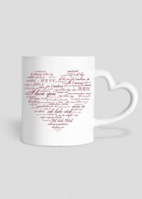 Kubek kocham Cię / Serce / Miłość / Walentynki