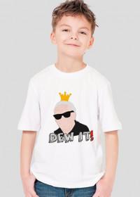 """Koszulka dla Chłopca - """"DEW IT!"""" - Star Wars"""