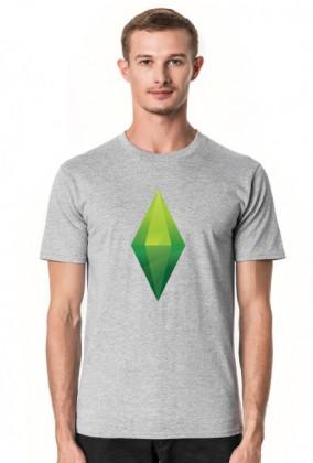 Koszula męska Basic   Plumbob TS4 koszulki męskie w The  GxVgj
