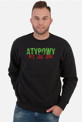 Szpaku - Atypowy, nie jak inni - męska bluza rap