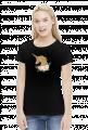 Koszulka z jednorożcem damska - Złoty jednorożec