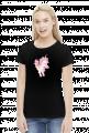 Koszulka z jednorożcem dla kobiety - Rózowy jednorożec