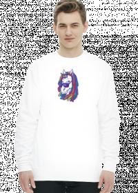Sweter/bluza z jednorożcem - Jednorożec z dredami