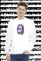 Bluza z jednorożcem unisex - Jednorożec z dredami