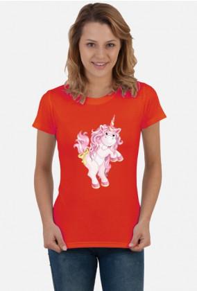 Koszulka z jednorożcem - Różowy jednorożec