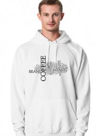 Bluza coffee Maniak Kawy biała
