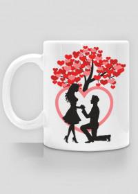 Kubek Drzewko miłości