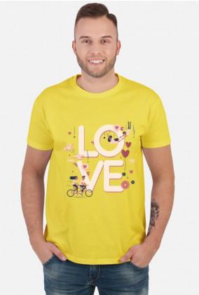 Koszulka Love męska