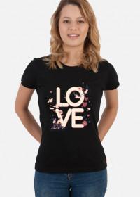 Koszulka Love damska
