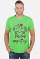 Koszulka My Boy męska wersja 2