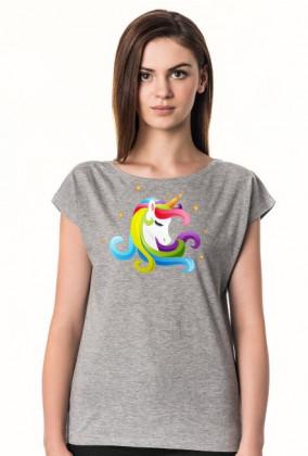 Jednorożec ubrania - Koszulka damska jednorożec