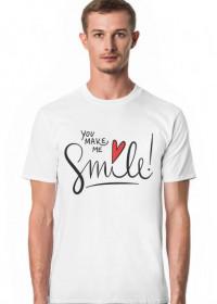 Koszulka You Make Me Smile męska