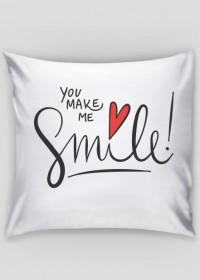 Poduszka You Make Me Smile