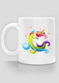 Kubek unicorn - Jednorożec głowa