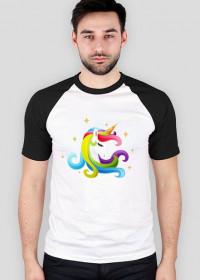 Koszulka baseball - Głowa jednorożec